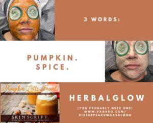 Kissed Peach Pumpkin Spice HerbalGlow